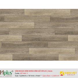 Sàn nhựa hèm khóa vân gỗ HPlus HP1062-1 | 4mm