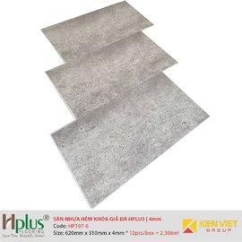 Sàn nhựa hèm khóa giá đá HPlus HP107-6   4mm