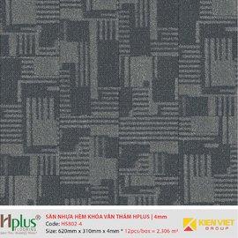 Sàn nhựa hèm khóa vân thảm HPlus HP5802-4 | 4mm