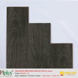 Sàn nhựa hèm khóa vân gỗ HPlus HP6087-10 | 4mm