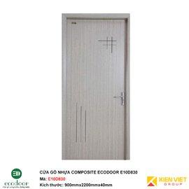 Cửa gỗ nhựa thông phòng Ecodoor E10D830