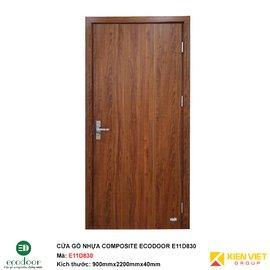 Cửa gỗ nhựa thông phòng Ecodoor E11D830