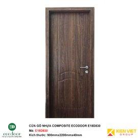 Cửa gỗ nhựa thông phòng Ecodoor E18D830