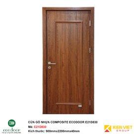 Cửa gỗ nhựa thông phòng Ecodoor E21D830