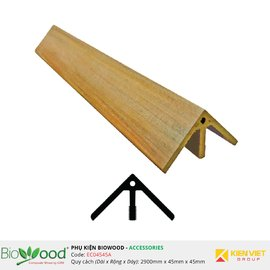 Nẹp góc 45x45mm Biowood EC04545A