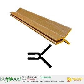 Nẹp góc 45x45mm Biowood EC04545B
