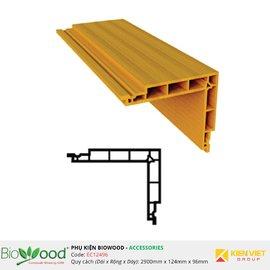Nẹp góc 124x96mm Biowood EC12496