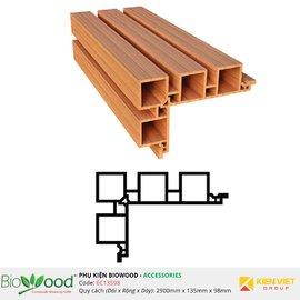 Nẹp góc 135x98mm Biowood EC13598