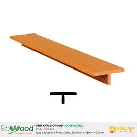 Nẹp nối 48x20mm Biowood JP04820