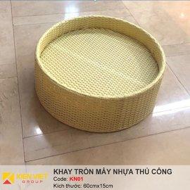 Khay nổi bể bơi hình tròn KN01 | 60x15cm