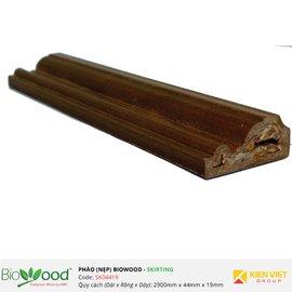 Phào nẹp 44x19mm Biowood SK04419