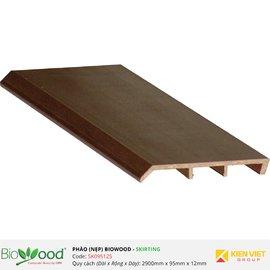 Phào nẹp 95x12mm Biowood SK09512S