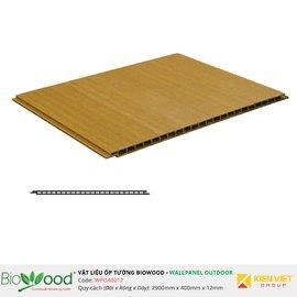 Gỗ ốp tường 400x12mm Biowood WPO40012