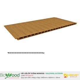Gỗ ốp tường 600x18mm Biowood WPO60018