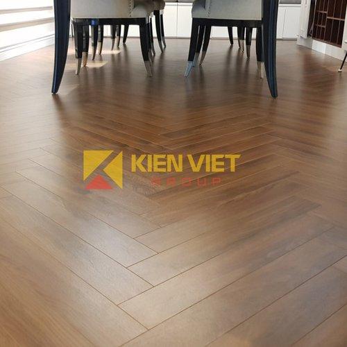 Sàn gỗ công nghiệp Borneo xương cá BN19722 | 12mm