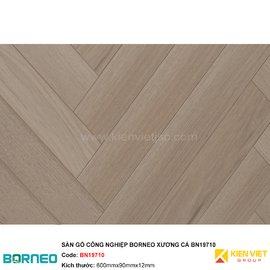 Sàn gỗ công nghiệp Borneo xương cá BN19710 | 12mm