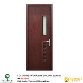 Cửa gỗ nhựa nhà vệ sinh Ecodoor E02W710