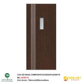 Cửa gỗ nhựa nhà vệ sinh Ecodoor E03W710