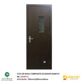 Cửa gỗ nhựa nhà vệ sinh Ecodoor E04W710