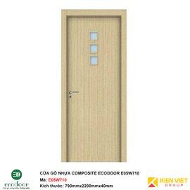 Cửa gỗ nhựa nhà vệ sinh Ecodoor E05W710