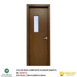 Cửa gỗ nhựa nhà vệ sinh Ecodoor E06W710