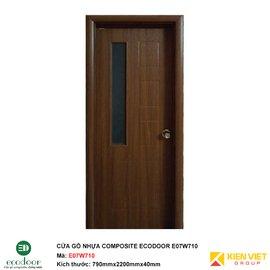 Cửa gỗ nhựa nhà vệ sinh Ecodoor E07W710