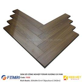 Sàn gỗ công nghiệp Ferari xương cá FA96 | 12mm