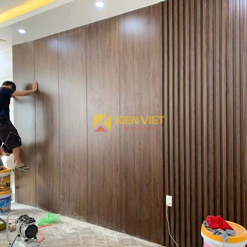 Tấm ốp tường nan sóng Skywood WD21520N | 215x20MM