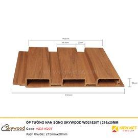 Tấm ốp tường nan sóng Skywood WD21520T | 215x20MM