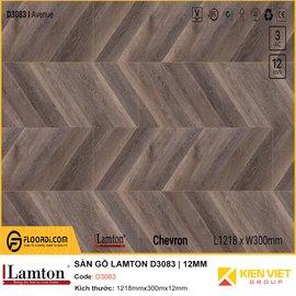 Sàn gỗ xương cá Lamton D3083 Avenue Chevron | 12mm