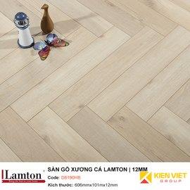 Sàn gỗ Xương Cá Lamton D8190HB Light Smoked | 12mm
