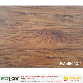 Sàn nhựa hèm khóa Kiên An EcoFloor SPC KA48013-1 | 4mm