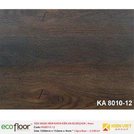 Sàn nhựa hèm khóa Kiên An EcoFloor SPC KA8010-12 | 4mm