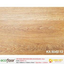 Sàn nhựa hèm khóa Kiên An EcoFloor SPC KA8042-12 | 4mm
