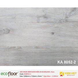 Sàn nhựa hèm khóa Kiên An EcoFloor SPC KA8052-2 | 4mm