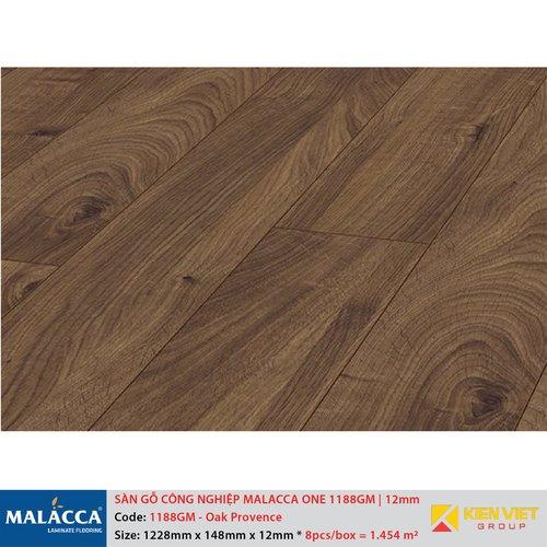 Sàn gỗ công nghiệp Malacca ONE 1188GM Oak Provence   12mm