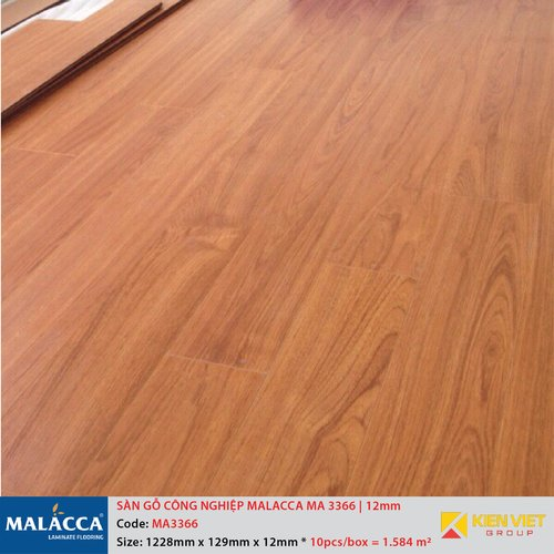 Sàn gỗ công nghiệp Malacca MA3366 | 12mm