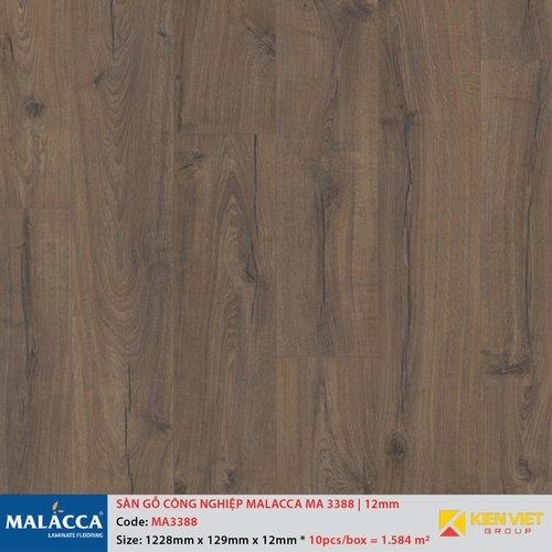 Sàn gỗ công nghiệp Malacca MA3388 | 12mm