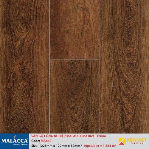 Sàn gỗ công nghiệp Malacca MA869 | 12mm