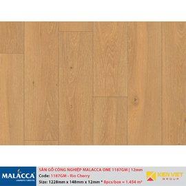 Sàn gỗ công nghiệp Malacca ONE 1187GM Rio Cherry | 12mm
