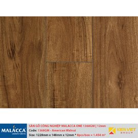 Sàn gỗ công nghiệp Malacca ONE 1368GM American Walnut | 12mm