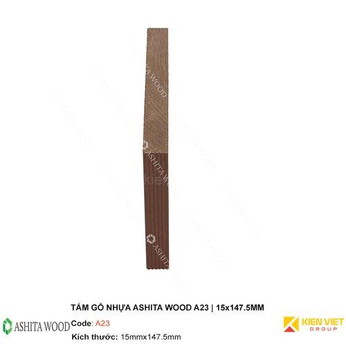 Tấm gỗ nhựa Ashita Wood A23   15x147.5mm