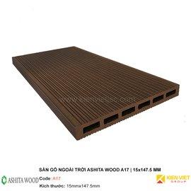 Sàn gỗ nhựa ngoài trời Ashita Wood A17 | 15x147.5mm