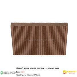 Tấm gỗ nhựa Ashita Wood A23 | 15x147.5mm