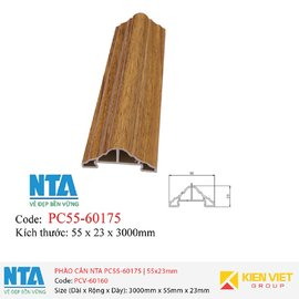 Phào cân NTA PC55-60175 | 55x23mm