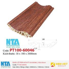 Phào cổ trần NTA PT100-60046   100x18mm