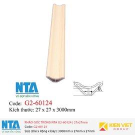 Phào góc trong NTA G2-60124 | 27x27mm