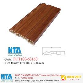 Phào chân tường NTA PCT100-60160 | 100x17mm