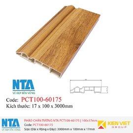 Phào chân tường NTA PCT100-60175   100x17mm