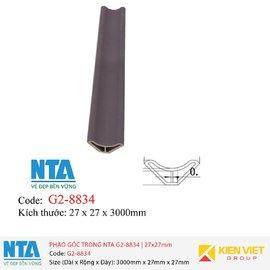 Phào góc trong NTA G2-8834 | 27x27mm